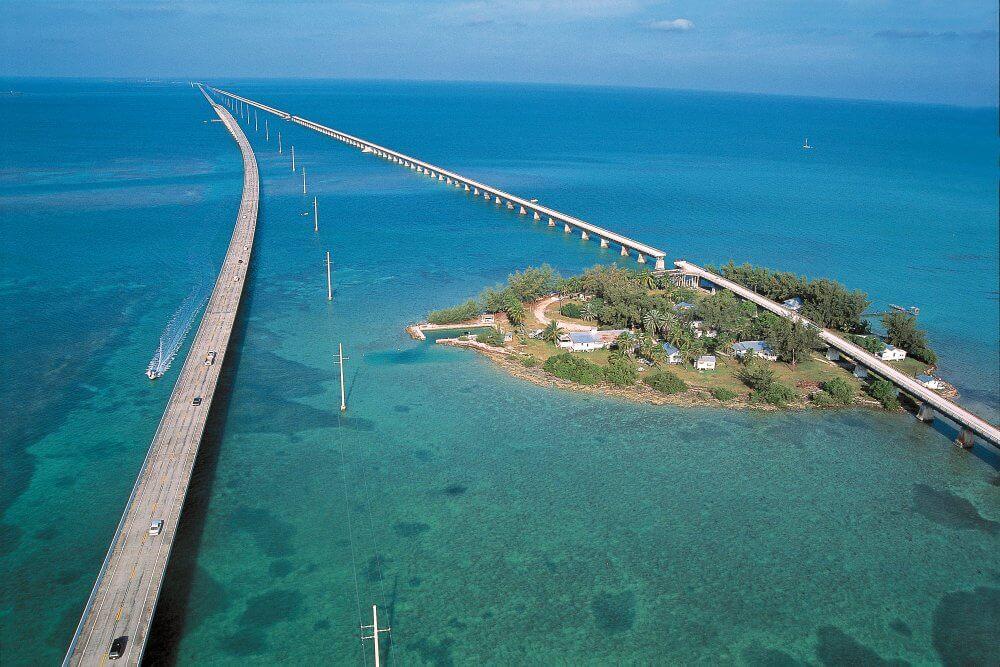Viagem de carro de Miami à Key West ou de Key West à Miami