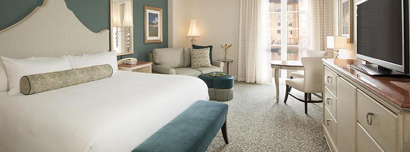 Hotel Loews Portofino Bay da Universal em Orlando: quarto do hotel