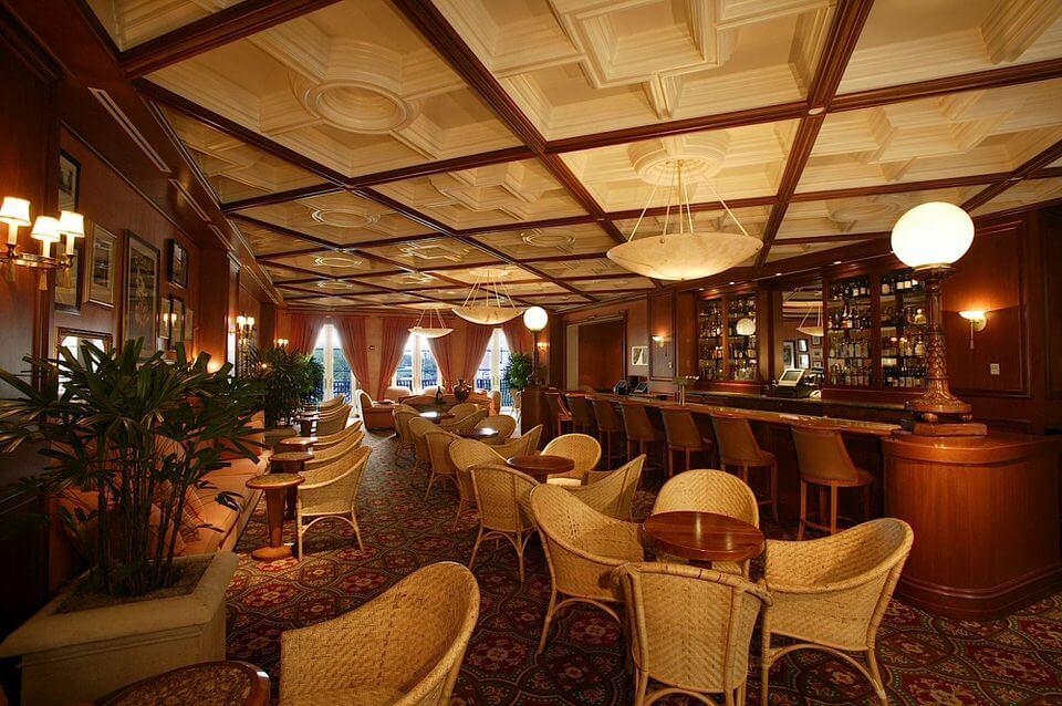 Hotel Loews Portofino Bay da Universal em Orlando: restaurante do hotel