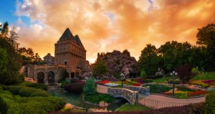 Pavilhão e área do Canadá no Disney Epcot em Orlando 4