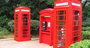 Pavilhão e área do Reino Unido no Disney Epcot em Orlando 3