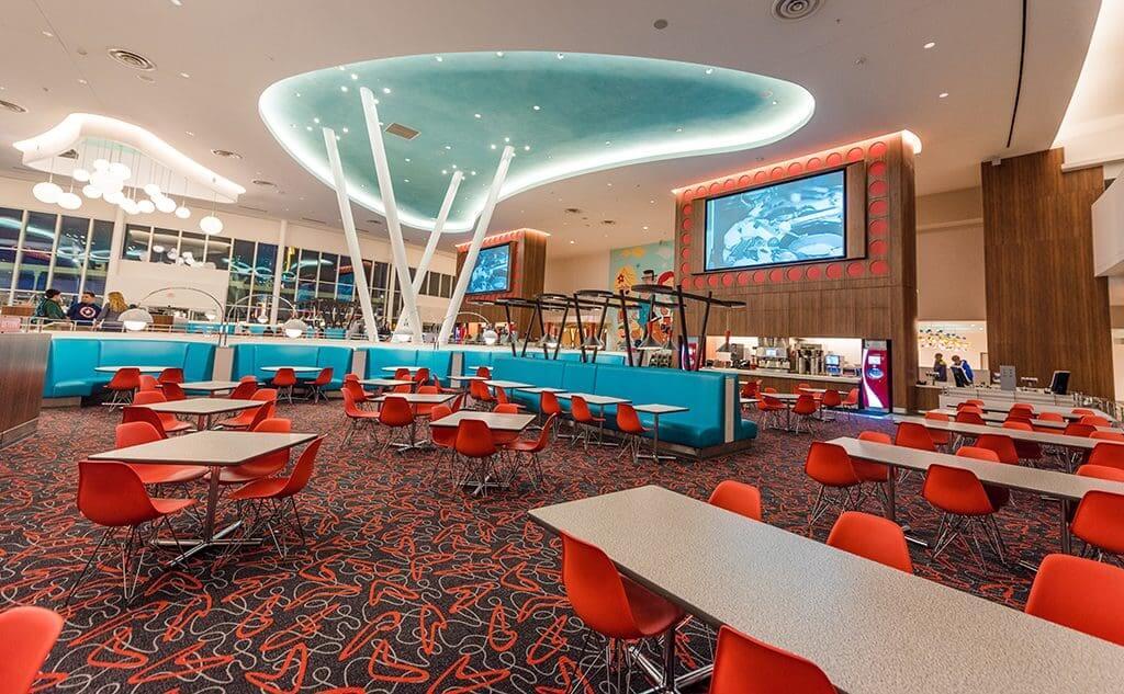 Hotel Cabana Bay Beach Resort da Universal em Orlando: restaurantes
