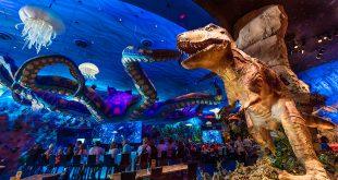 Restaurante T-Rex em Orlando
