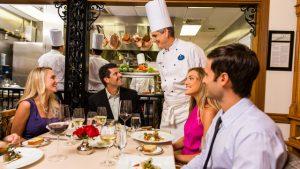 Restaurante Victoria & Albert's em Orlando: interior do restaurante