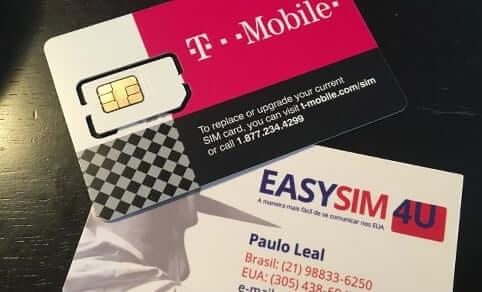 Chip da EasySIM4U com internet ilimitada para Orlando