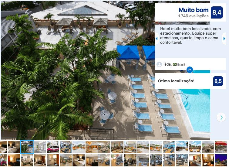 Hotéis bons e baratos em Miami: Hotel Crowne Plaza Miami Airport