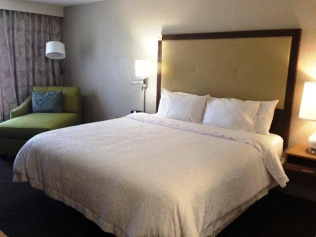 Dicas de hotéis em Tampa: Hampton Inn Tampa-Rocky Point - quarto
