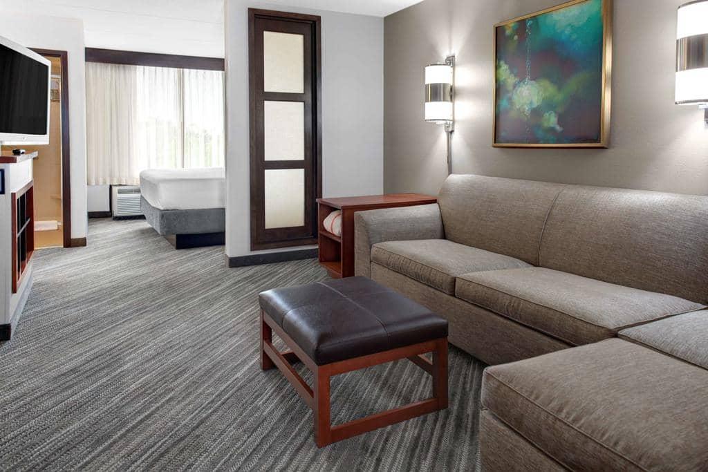 Dicas de hotéis em Tampa: Hotel Hyatt Place Tampa Busch Gardens - quarto