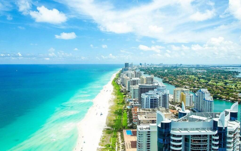Quantos dias ficar em Miami: praia