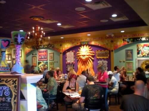 Restaurantes em Winter Park: restaurante Tibby's New Orleans Kitchen