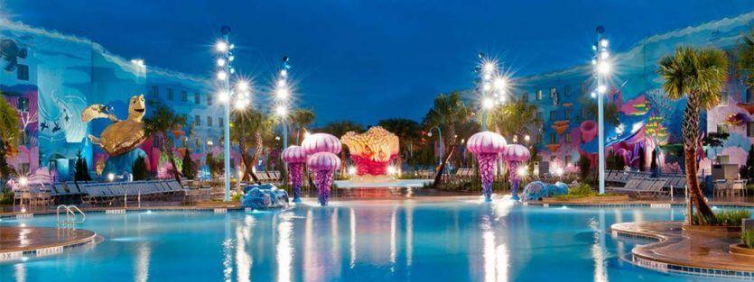 Hotéis mais baratos da Disney em Orlando: Disney's Art of Animation Resort