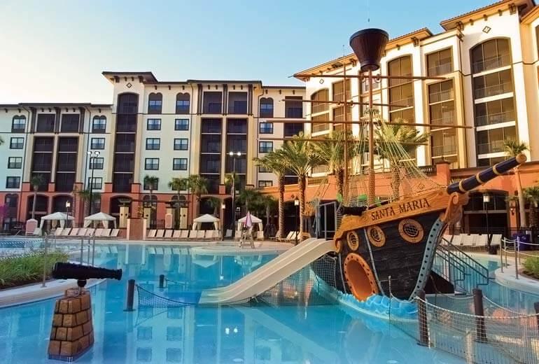 Hotéis bons para família em Orlando:Sheraton Vistana Villages Resort Villas