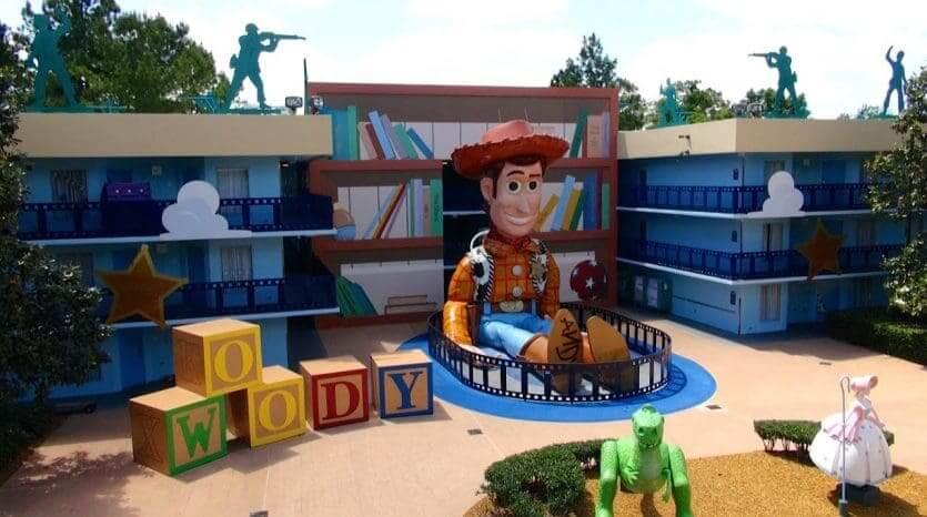 Hotéis com atendimento em português em Orlando: Disney's All-Star Movies Resort