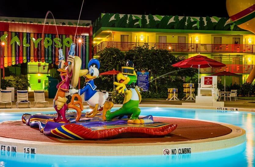Hotéis mais baratos da Disney em Orlando: Disney's All-Star Music Resort