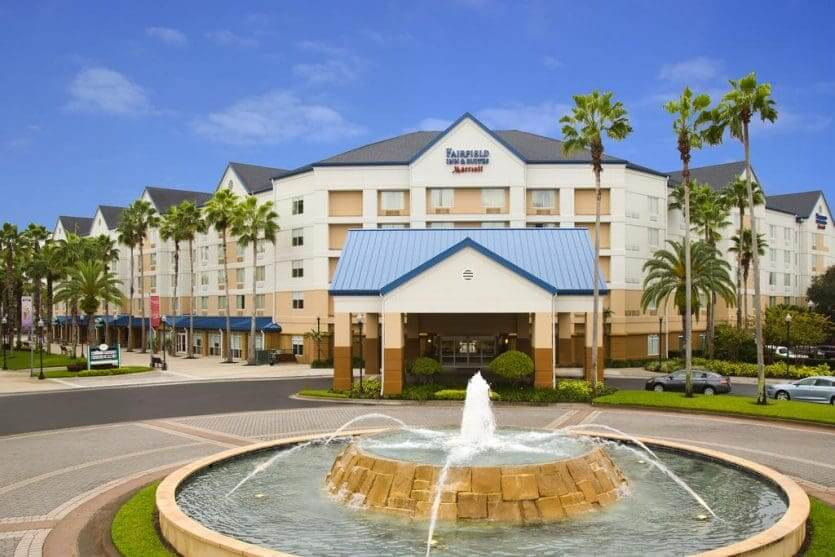Hotéis mais procurados por brasileiros em Orlando: Fairfield Inn & Suites by Marriott Orlando Lake Buena Vista