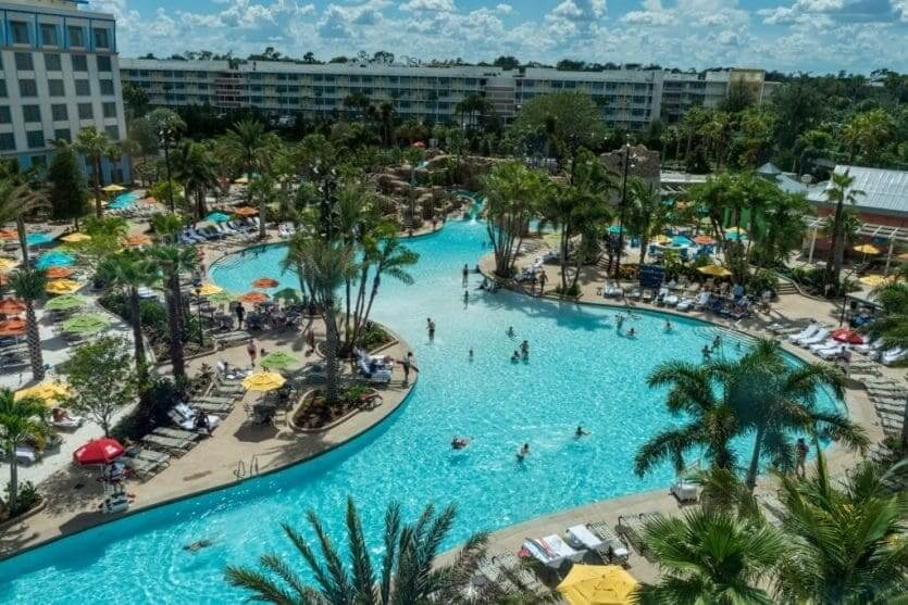 Hotéis próximos à Universal em Orlando: hotel Loews Sapphire Falls Resort