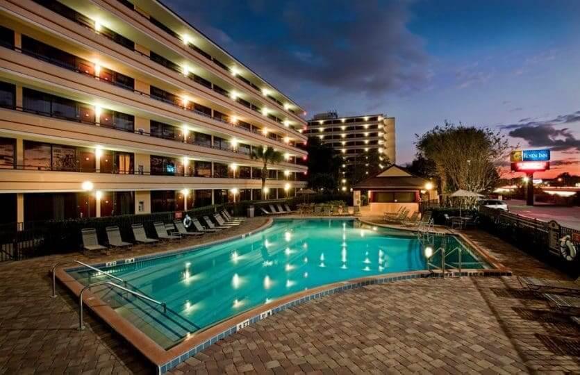 Hotéis na International Drive em Orlando: hotel Rosen Inn At Pointe Orlando