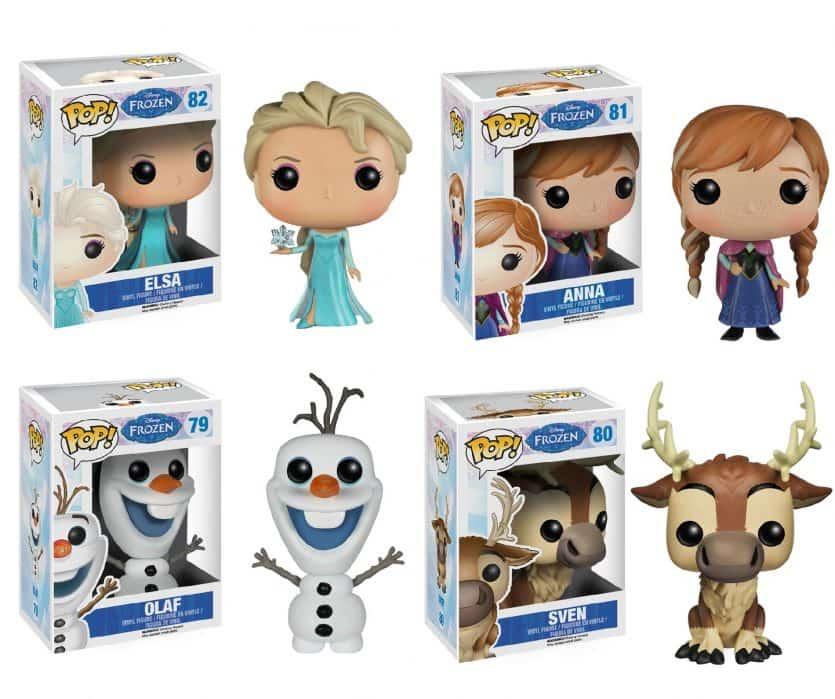 Onde comprar os bonecos Funko Pop em Orlando: coleção Frozen