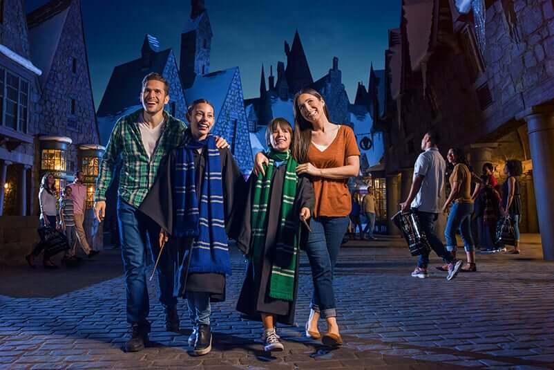 Natal do Harry Potter na Universal Orlando; Hogsmeade