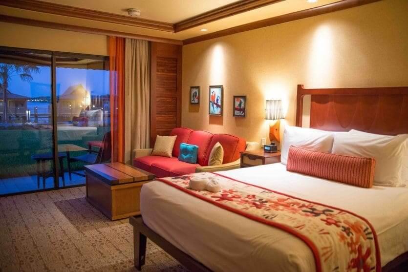 Disney's Polynesian Village Resort: quarto