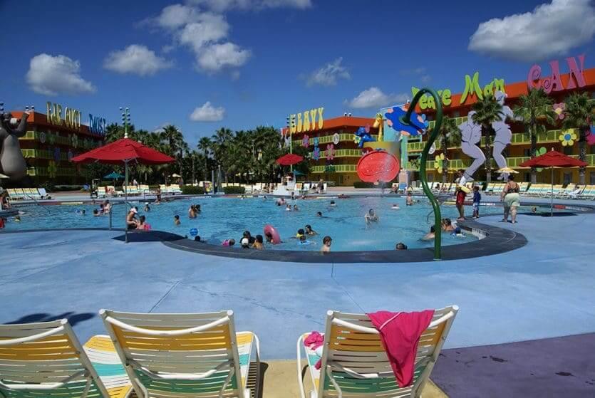 Disney's Pop Century Resort: piscina