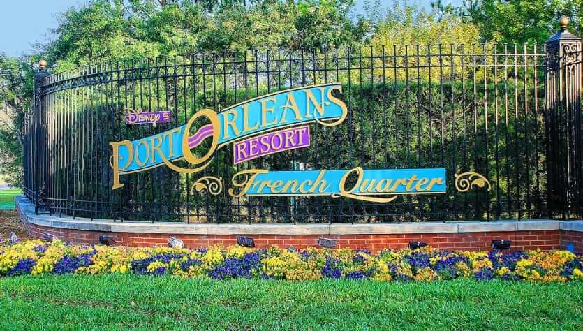 Disney's Port Orleans Resort - French Quarter: entrada do hotel