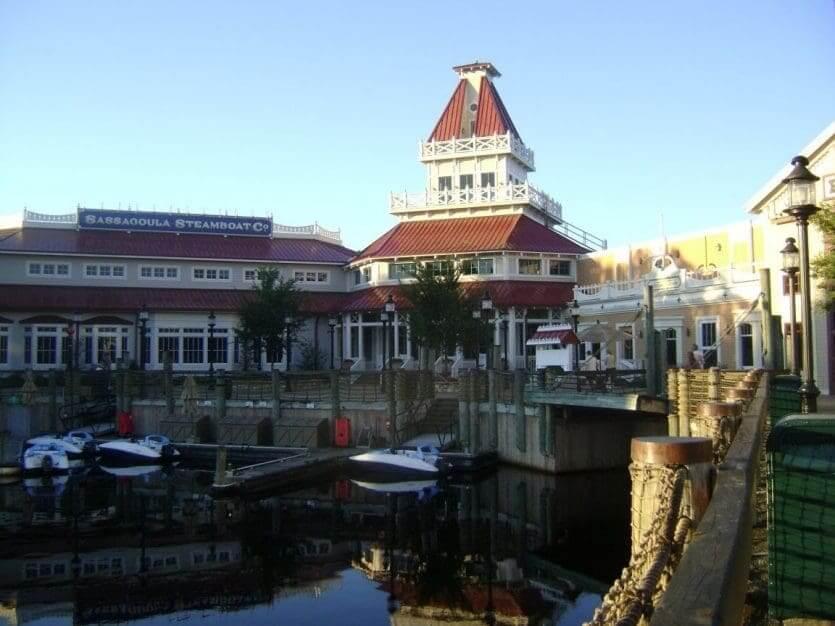 Disney's Port Orleans Resort: marina