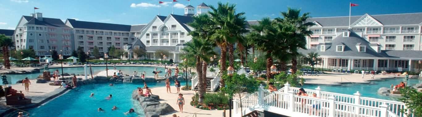 Disney's Yacht Club Resort: piscinas