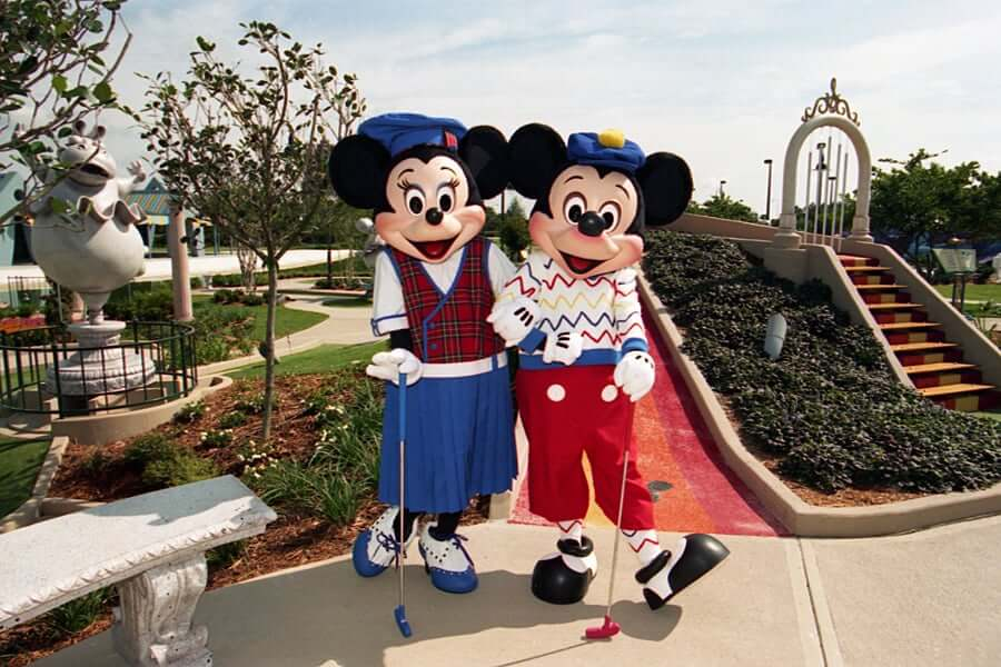Disney's Yacht Club Resort: Fantasia Gardens & Fairways Miniature Golf