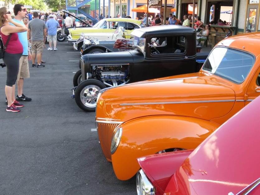 Classic Car Show em Old Town