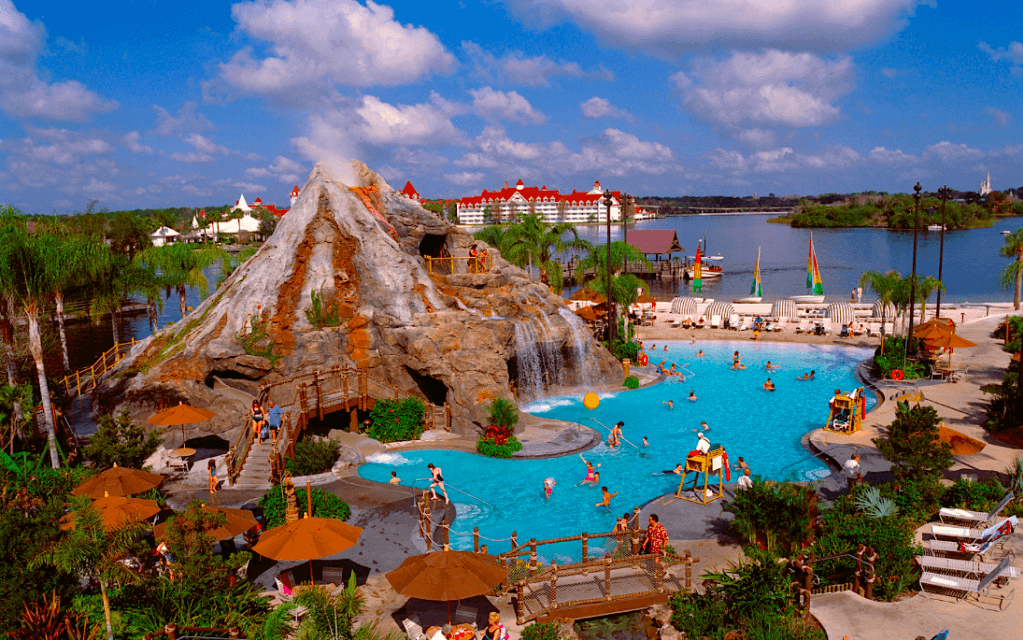 Disney's Polynesian Village Resort: piscina lava