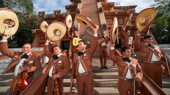 Shows, paradas e apresentações no parque Disney Epcot Orlando: Mariachi Cobre