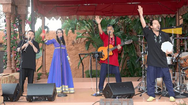 Shows, paradas e apresentações no parque Disney Epcot Orlando: Matboukha Groove