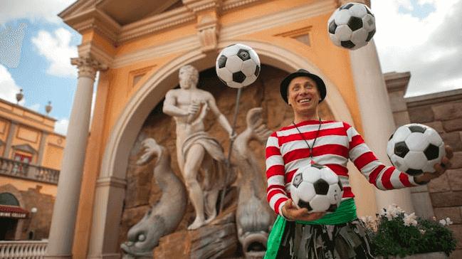 Shows, paradas e apresentações no parque Disney Epcot Orlando: Sergio