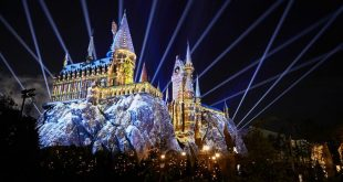 Shows, paradas e apresentações no parque Islands of Adventure em Orlando: The Magic of Christmas at Hogwarts
