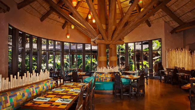 Disney's Animal Kingdom Villas - Jambo House: restaurante Boma - Flavors of Africa