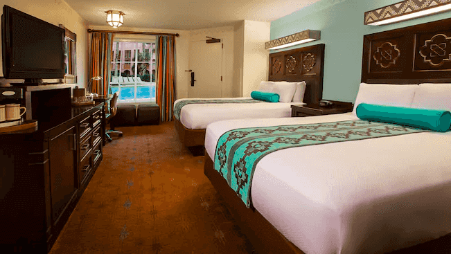 Disney's Coronado Springs Resort: quarto