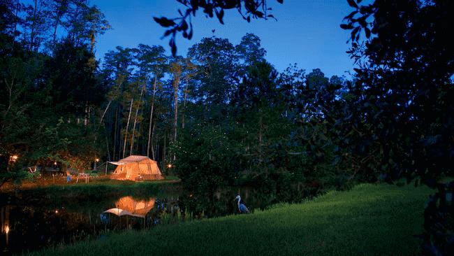 The Campsites e Cabins no Disney's Fort Wilderness Resort