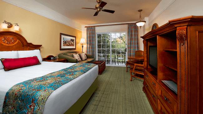 Disney's Saratoga Springs Resort & Spa: Studio