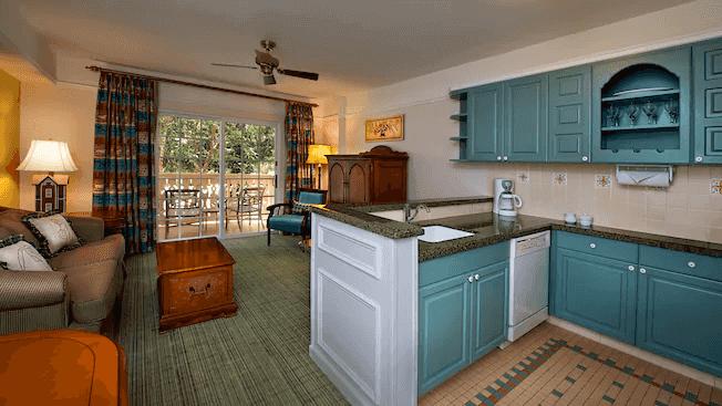 Disney's Saratoga Springs Resort & Spa: Villa