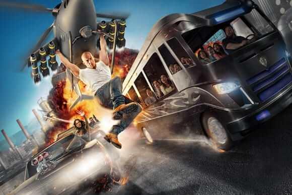 Nova atração de Velozes e Furiosos no Universal Studios: Fast & Furious - Supercharged