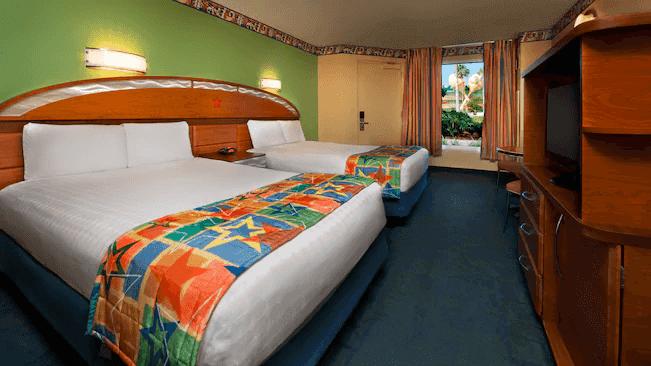 Hotel Disney All-Star Music em Orlando: quarto preferencial