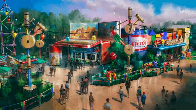 Nova área de Toy Story no Disney Hollywood Studios: Woody's Lunch Box