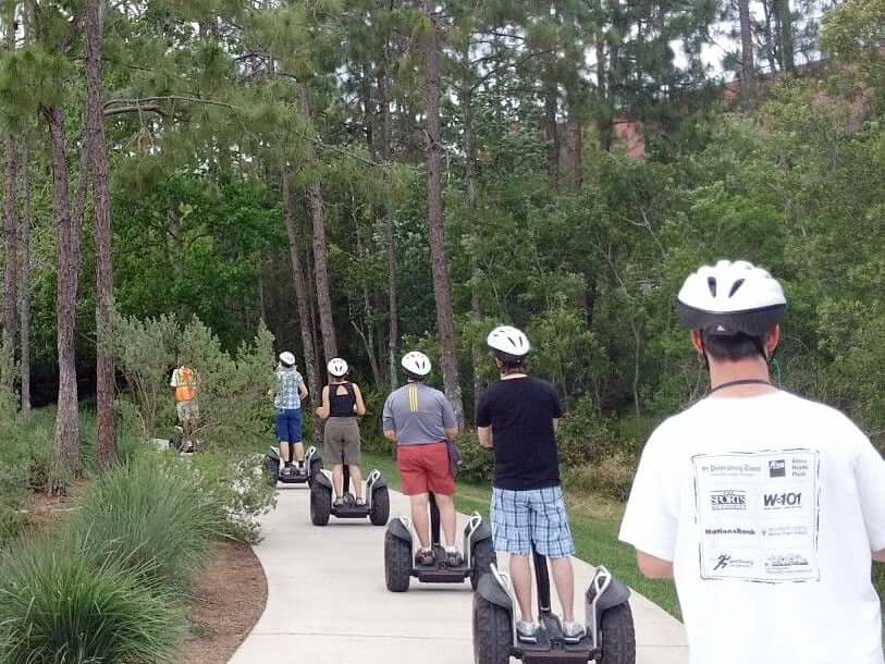Wilderness Back Trail Adventure: Segway