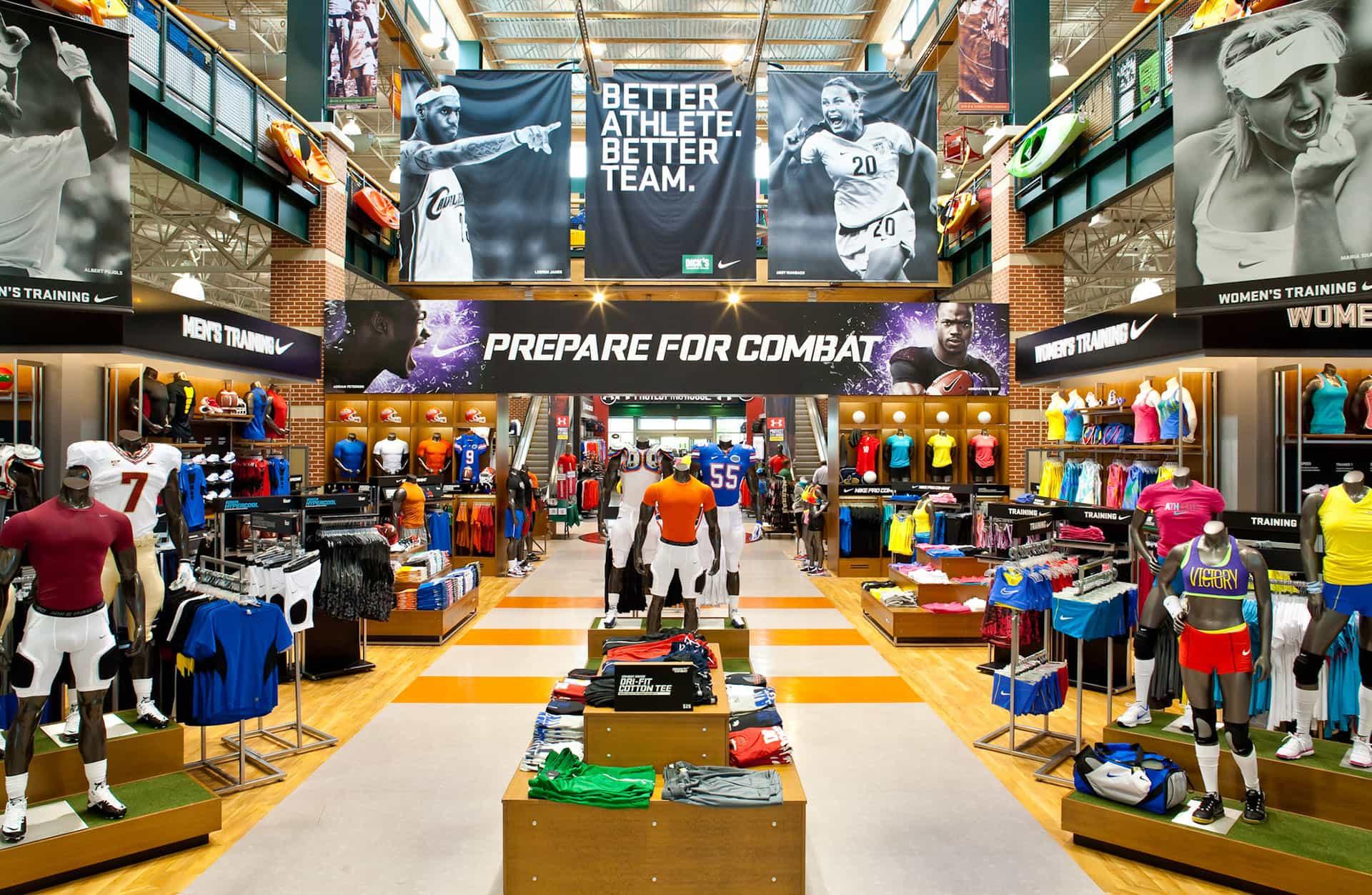 Lojas DICK'S Sporting Goods em Orlando: produtos