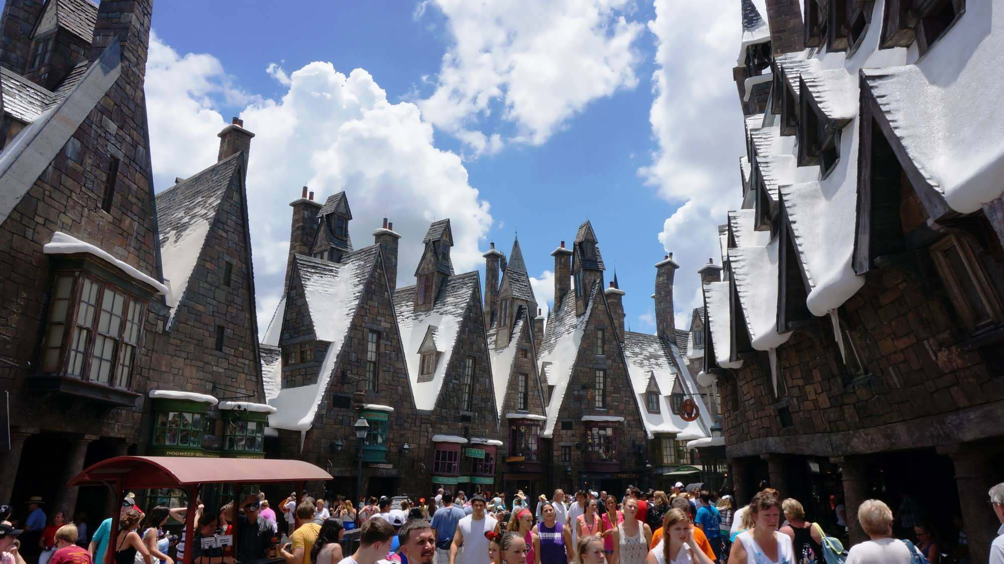 Nova montanha-russa do Harry Potter no Islands of Adventure em Orlando: The Wizarding World of Harry Potter - Hogsmeade