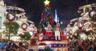Mickey's Once Upon a Christmastime Parade no Disney Magic Kingdom