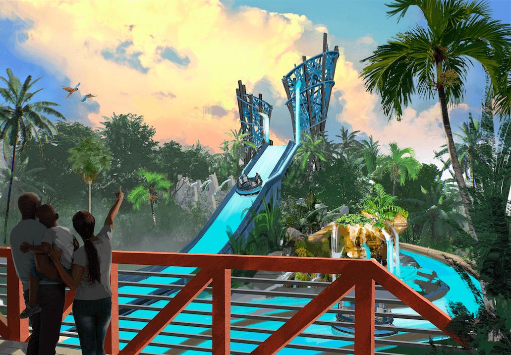 Nova atração do SeaWorld em Orlando: Infinity Falls