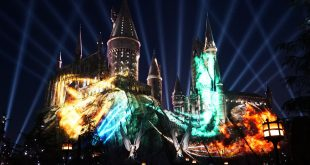 Show noturno do Harry Potter na Universal Orlando: The Nighttime Lights at Hogwarts Castle