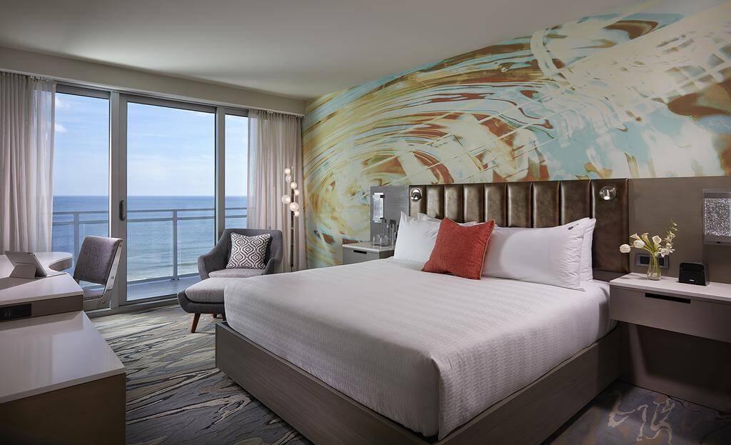 Melhores hotéis em Daytona Beach: Hard Rock Hotel - quarto